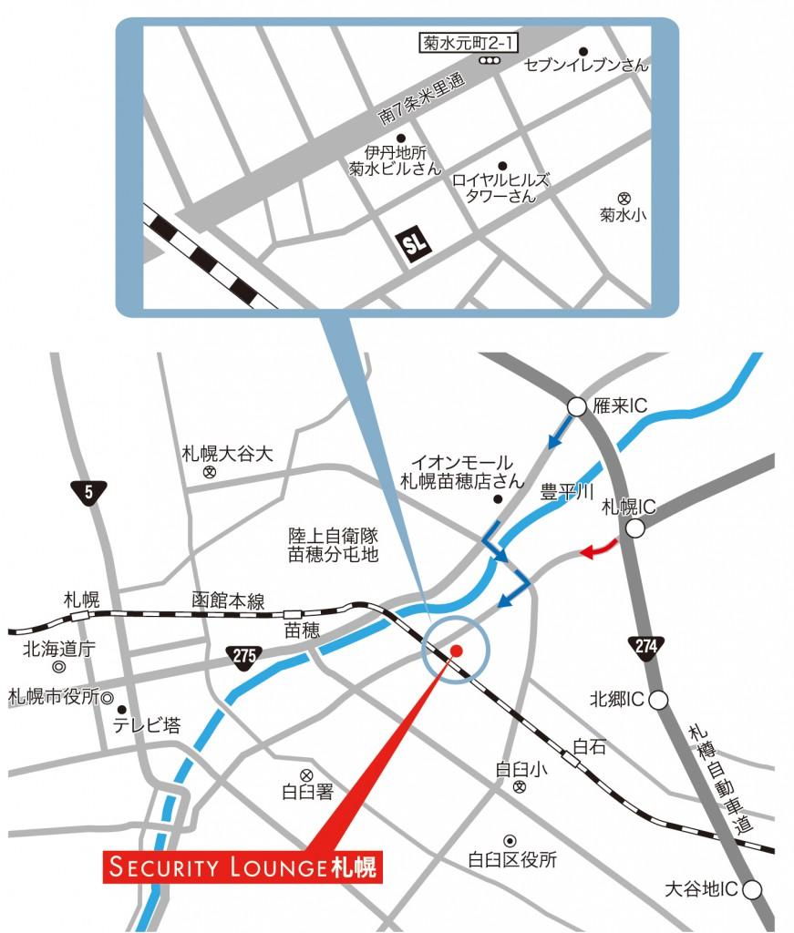 札幌店map